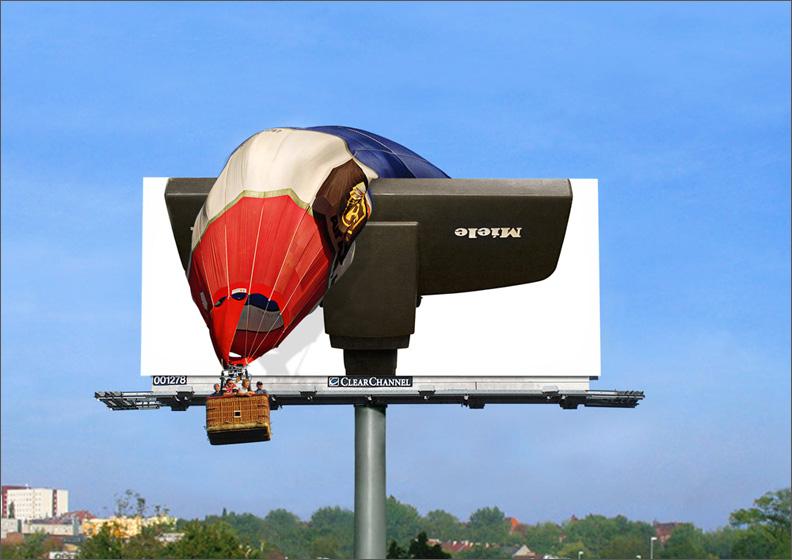 Miele Billboard Advertisement - GoVacuum