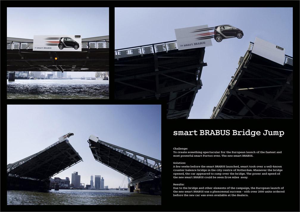 [创意] 透过广告设计看什么是顶尖的造桥专家 - 路人@行者 - 路人@行者